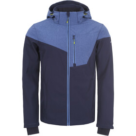 Icepeak Bendon Softshell Jas Heren, blue/black